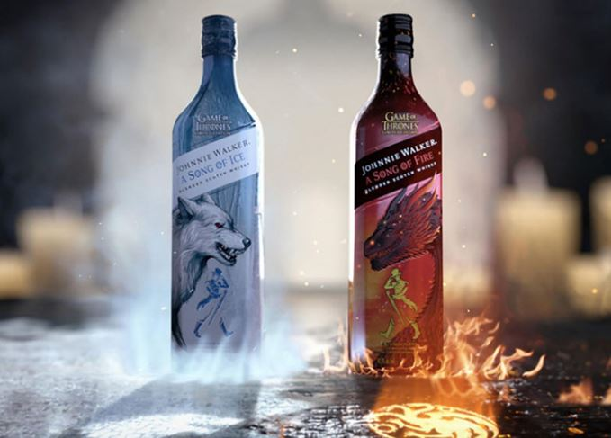 Johnnie Walker Fire & Ice campaign